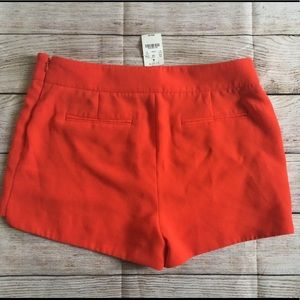 J Crew Orange Shorts Sz. 10 NWT